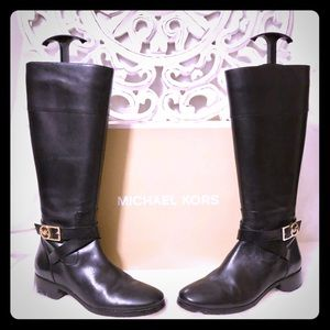 Michael Kors Leather Boots 👢 🌟